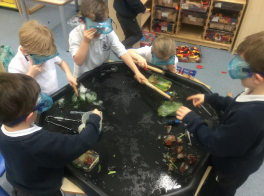 Exploring water and ice