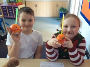 Christingle in Bure Class
