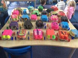 Our moving cars DT project and Chet Town!